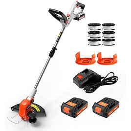 """Paxcess 20V 12"""" Cordless String Trimmer/Lawn Edger Weed Wacker for $79.99"""
