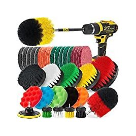 Holikme 37 Pack Drill Brush Attachments Set for $22.95