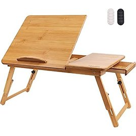 Bamboo Laptop Bed Desk