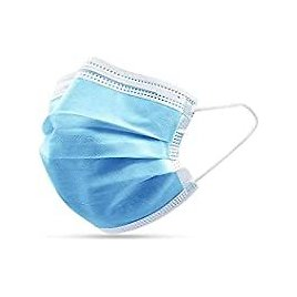 50-Pack Royal Champion 3-Ply Disposable Face Mask for $1.99