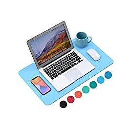 WAYBER 23.6 X 13.7 Inch PU Leather Waterproof Desk Pad for $3.99