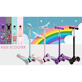 Hikole Scooter for Kids with 3 LED Wheels 🤩🤩