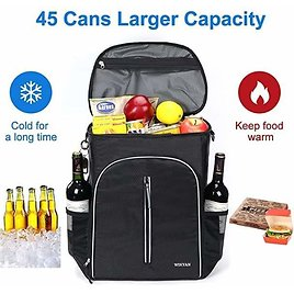 Insulated Cooler Backpack 45 Cans Leak-Proof✨