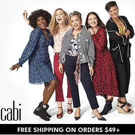Up To 75% Off Cabi Women's Clothing & Shoes At Zulily