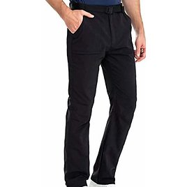 50% Off Clothin Men's Hiking Fishing Travel Pants with Belt - Side-Elastic, Breathable, Quick-Dry, Water-Resistant