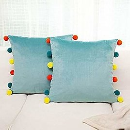 HOME Pompoms Soft Particles Throw Pillow Covers 🤩🤩