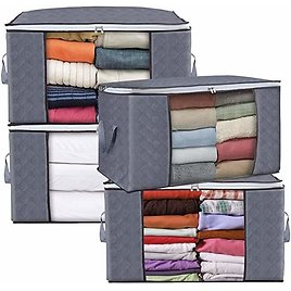 Large Clothes Storage Bag Containers.