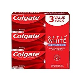 3-Pack Colgate Optic White Fluoride Toothpaste 3.2 Oz for $8.05