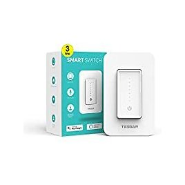 TESSAN Wi-Fi Smart 3-way Dimmer Switch for $14.99