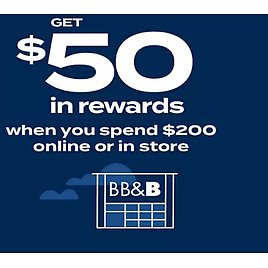 Free $50 in Reward When You Spend $200 in Store or Online