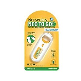 Neosporin + Pain Relief Neo to Go! Antiseptic/Pain Relieving Spray for $4.72 Only