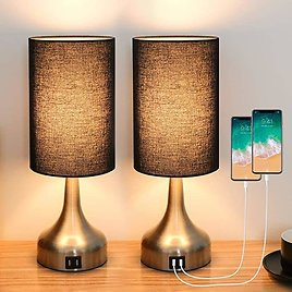 3-Way Dimmable Touch Control Table Lamps. 🔥