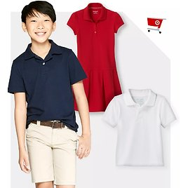 This Weekend Only! Extra 30% Off Kids School Uniforms