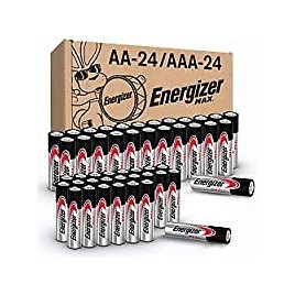 48-Count Energizer 24 AA and 24 AAA Batteries for $14.84