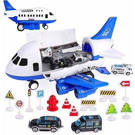 50% OFF Airplane Toy Set with Transport Cargo ✈