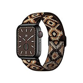 Amanecer Stretchable Nylon Watch Bands for Apple Watch Series for $2.75