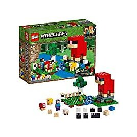 LEGO Minecraft The Wool Farm 21153 Building Kit for $15.99