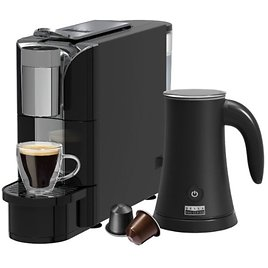 Bella Pro Series Capsule Coffee Maker and Milk Frother