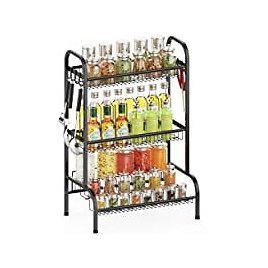 ISPECLE 3 Tier Spice Rack Organizer for $19.94
