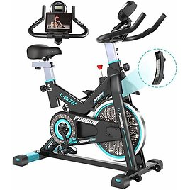 Pooboo Magnetic Indoor Cycling Bike, Belt Drive Indoor Exercise Bike,Stationary Bike LCD Display for Home Cardio Workout Bike Tr