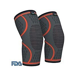 Modvel Athletic Knee Brace Support Compression Sleeves (Pair) for $8.61