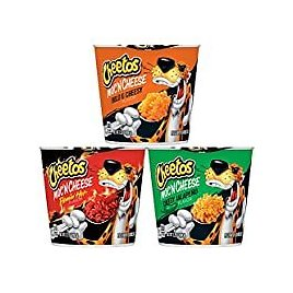 12-Pack Cheetos Mac 'N Cheese 3 Flavor Variety Pack for $10.79