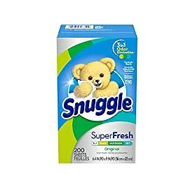 200-Count Snuggle Plus SuperFresh Fabric Softener Dryer Sheets for $4.54