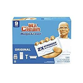 9-Count Mr. Clean Magic Eraser Cleaning Pads with Durafoam for $5.66