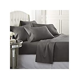 6-Piece Danjor Linens California King Size Bed Sheets & Pillowcases Set for $18.20