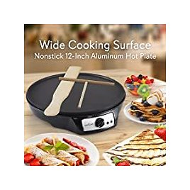 NutriChef Nonstick 12 Inch Electric Crepe Maker for $29.41