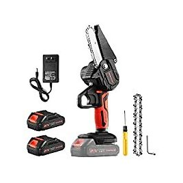 Greentooler 4 Inch Electric Mini Chainsaw for $39.99