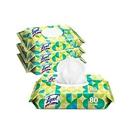 320-Count (4 X 80) Lysol Handi-Pack Antibacterial Disinfecting Wipes for $14.24