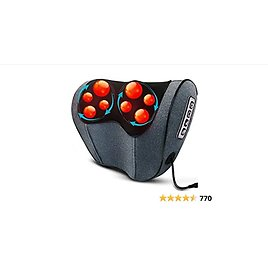 Asurle Deep Tissue Kneading Massage Back Massager with Heat for Neck, Shoulders Back, Legs & Foot