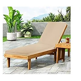 Bathonly 78.7 X 26 X 2.8 Inch Outdoor/Indoor Chaise Lounge Cushion