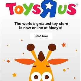 Toys R Us to Make a Comeback with Macy's