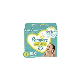 Baby Wipes, Pampers Sensitive Water Based Baby Diaper Wipes, Hypoallergenic and Unscented, 7 Pop-Top Packs, 504 Count Total Wipes (Packaging May Vary) : Everything Else