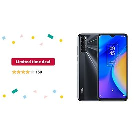 """Get TCL 20 SE 6.8"""" 128GB Unlocked Android Smartphone from Amazon.com"""