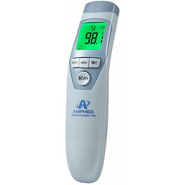 Amplim Hospital Medical Grade Non Contact Clinical Infrared Forehead Thermometer for $17.72