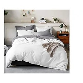 Bedsure 100% Washed Cotton Duvet Covers Queen Size from Amazon.