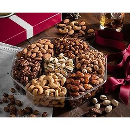 Extra Large 2LB - Sweet & Salty Dry Roasted Gourmet Gift Basket✨ from Amazon.