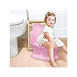 Nuby My Real Potty Training Toilet with Life-Like Flush Button & Sound for $20.13