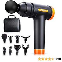 Birthday Gifts for Men Muscle Massage Gun Deep Tissue, 20 Speeds Deep Percussion Massager Gun for Athletes with Carrying Case & 8 Heads, Help Relieve Sore Muscles and Stiffness