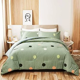 PeachLeaf Comforter Set from Amazon🔥
