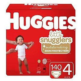 Huggies Little Snugglers, Baby Diapers for $43.50