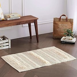 Tufted Cotton Area Rug from Amazon