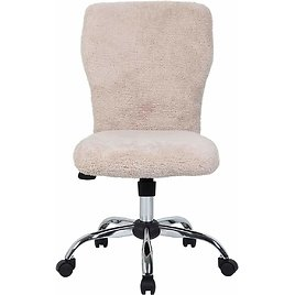 Fur Modern Office Chair in Cream from Amazon! 💕