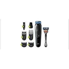 Braun 7-in-1 Beard Trimmer Mens Grooming Kit with Gillette ProGlide Razor from Amazon.com