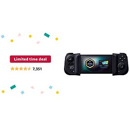 Limited-time Deal: Razer Kishi Mobile Game Controller / Gamepad for Xbox Android USB-C: Game Pass Ultimate, XCloud, Cloud Gaming - Passthrough Charging - Low Latency Phone Controller Grip - Samsung, Pixel, & More