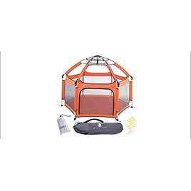 Pop 'N Go Lightweight Portable Playpen, Folding, Easily Collapsible Play Yard Crib from Amazon.com