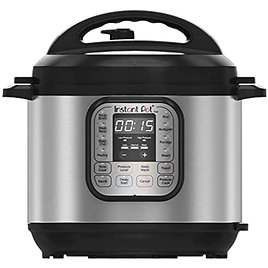 Get Instant Pot DUO60 6-Quart 7-in-1 Multi-Use Programmable Pressure Slow Rice Cooker Steamer Saute Yogurt Maker and Warmer from